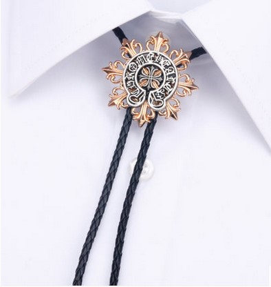 18 Colors Men High Quality Business BoloTie Bola Tie Cowboy Opal Bolo Tie Rodeo Dance Aztec Leather Party Neckwear