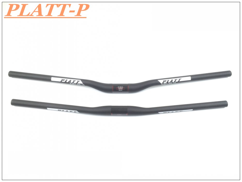 New Carbon Handlebar Mtb Handlebar Black Flat / Riser Bar Carbon Bicycle Parts 31.8mm * 580-760mm Handlebar Bike(China (Mainland))