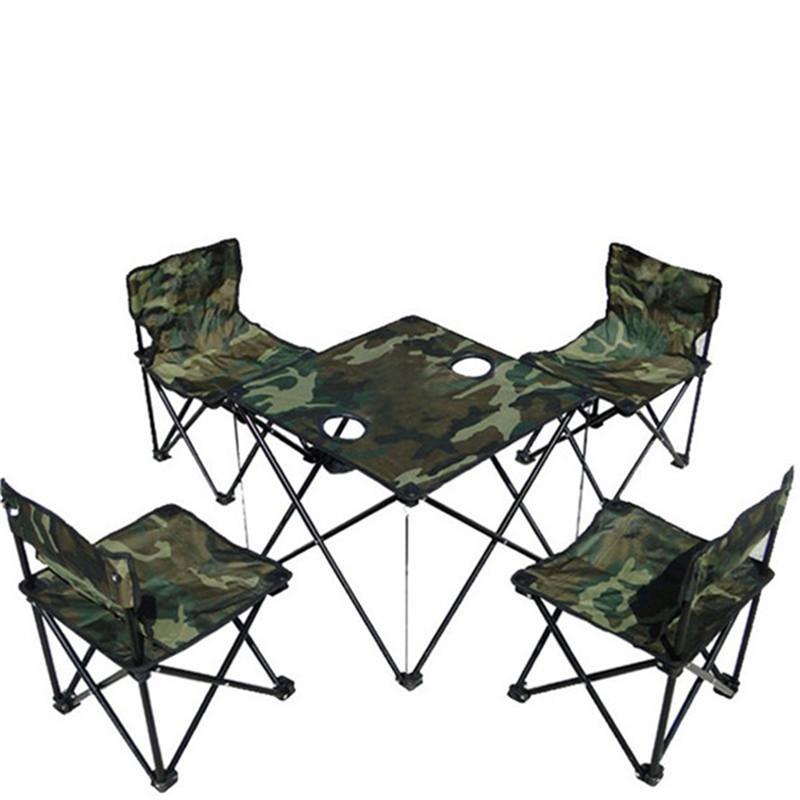 Silla de camping conjunto compra lotes baratos de silla for Mesa de camping plegable con sillas