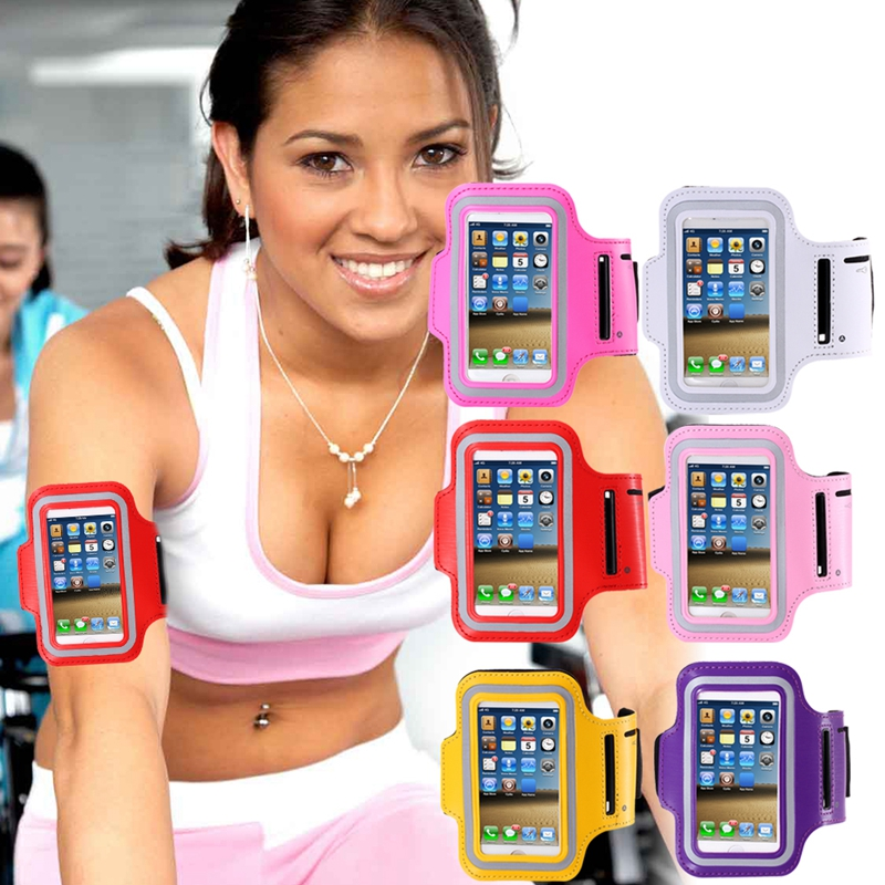 Men Women Running Sport Arm Band Case For Apple iPhone 5 5S SE 5C 4S 4 Waterproof Size Adjustable GYM Walking Exercise Bag Cover(China (Mainland))