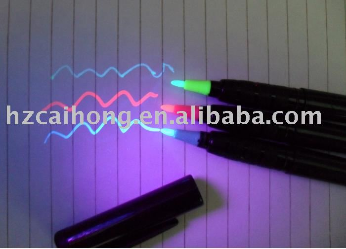 logo printing Invisible pen CH6004 uv marker:Novelty three color for choose<br><br>Aliexpress