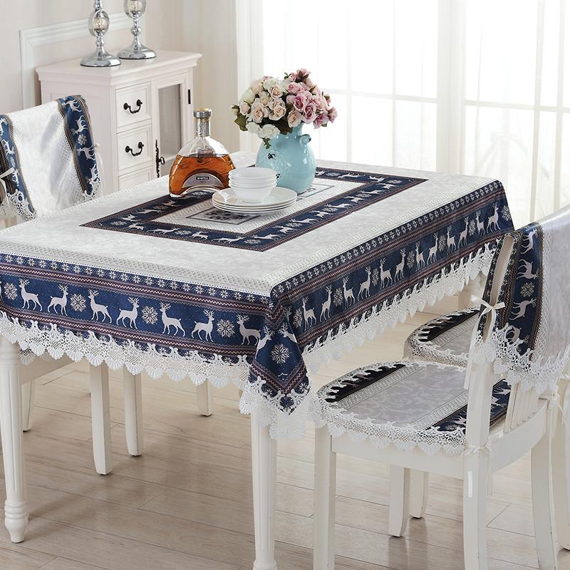 Online kopen Wholesale borduren tafelkleed patronen uit China borduren tafelkleed patronen