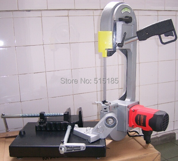 portable belt saw cutting bench band saw machine(China (Mainland))
