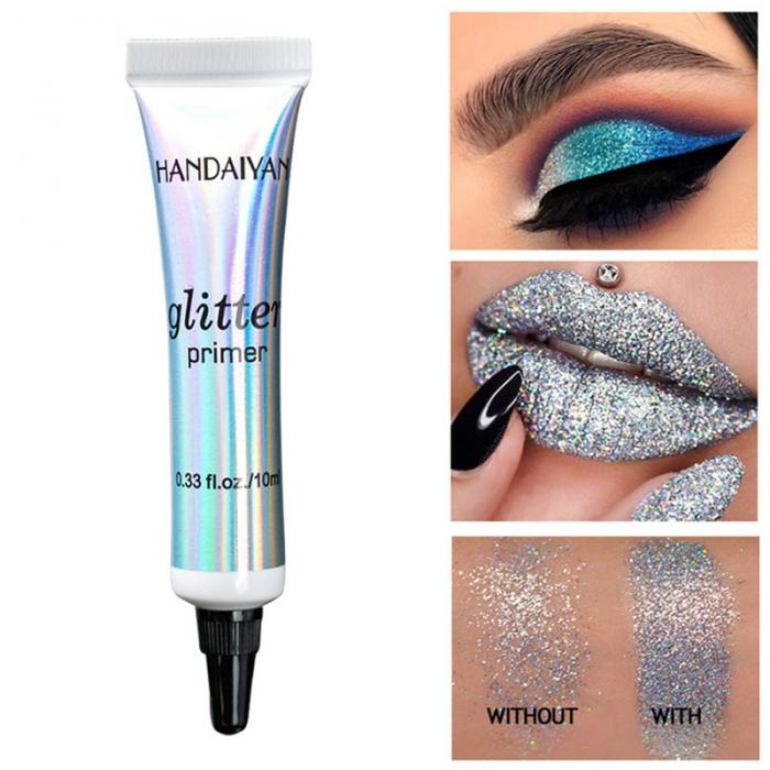 Beauty Essentials 1 Bottle Mermaid Sequins Gel Glitter Eyeshadow Fashion Eyes Makeup Cosmetic Mixed Paillette Universal Face Body Hair Glitter Gel