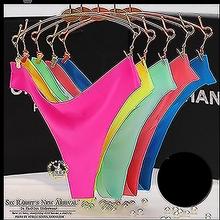 One Piece G-String Thong Women Sexy Underwear Traceless Dot Womens Underwears Slip Lingerie Woman Knickers Ice Silk Panties