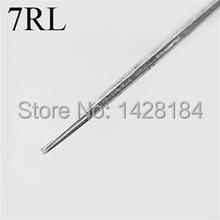 50 Pcs Disposable Round Liner sterile Sterilized Tattoo Machine Needles 7RL Free Shipping(China (Mainland))