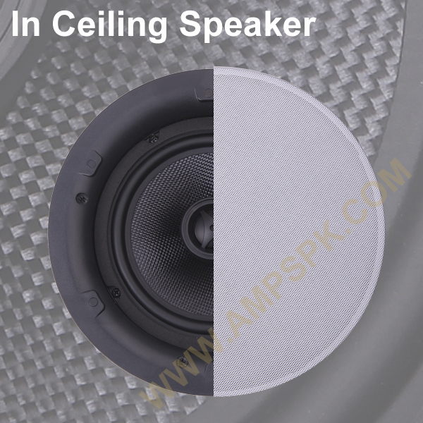 6 5 In Ceiling Speaker 40w Round Speaker For Background
