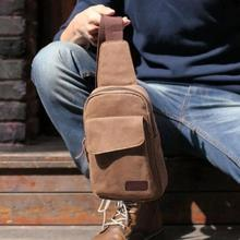 Men s Casual Small Canvas Vintage Shoulder Hiking Fanny Crossbody Bicycle Bag Messager bags HW03069