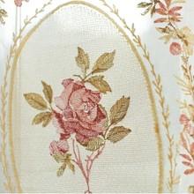 Белые вышитые цветочные короткие занавески s для кухни балдахин пелмет вуаль занавески s для двери окна жалюзи кофейные занавески QT027-3(China)