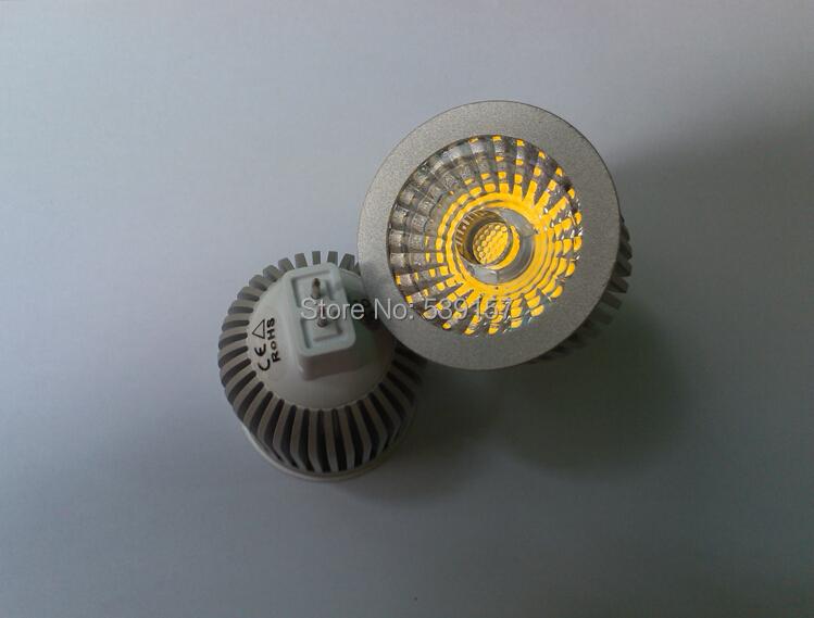 Free Shipping Super MR16 10W COB LED Spot Light Bulbs Lamp Warm white High Brightness Led Bulb light DC12V(China (Mainland))