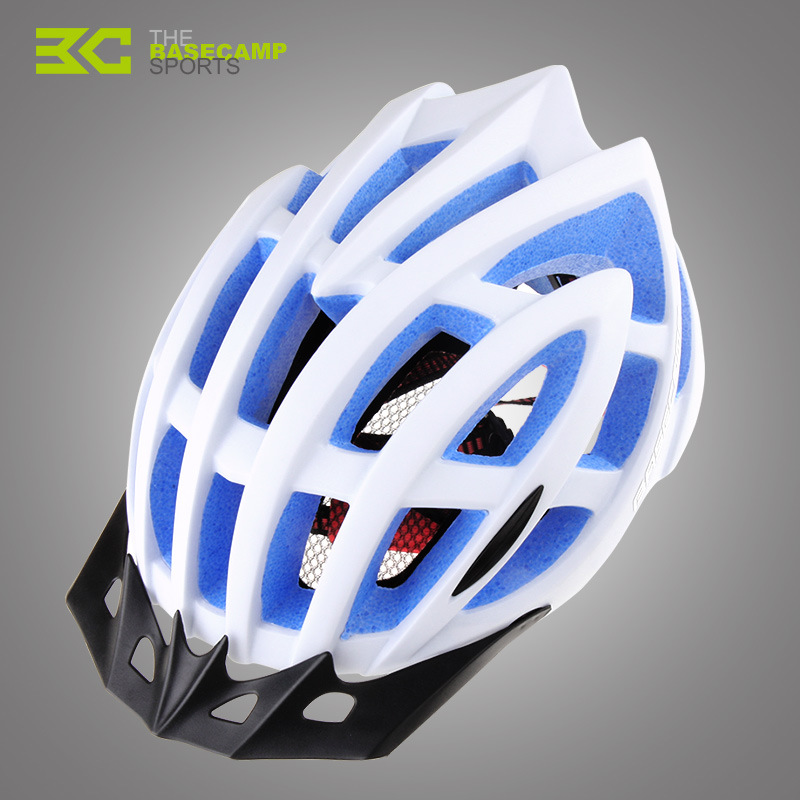 2016 brand professional bicycle/cycling helmet Ultralight and Integrally-molded 24 air vents bike helmet Dual use MTB or Road