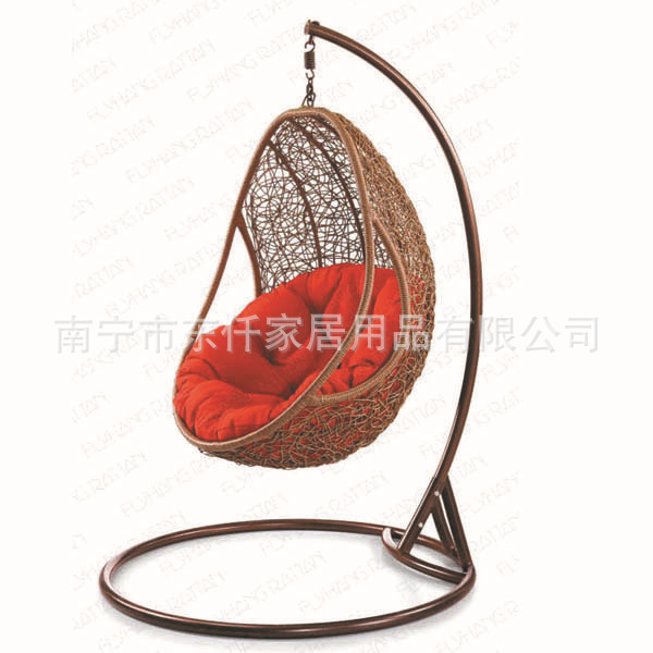 Dong qian home factory direct imitation rattan outdoor - Fauteuil oeuf suspendu ikea ...