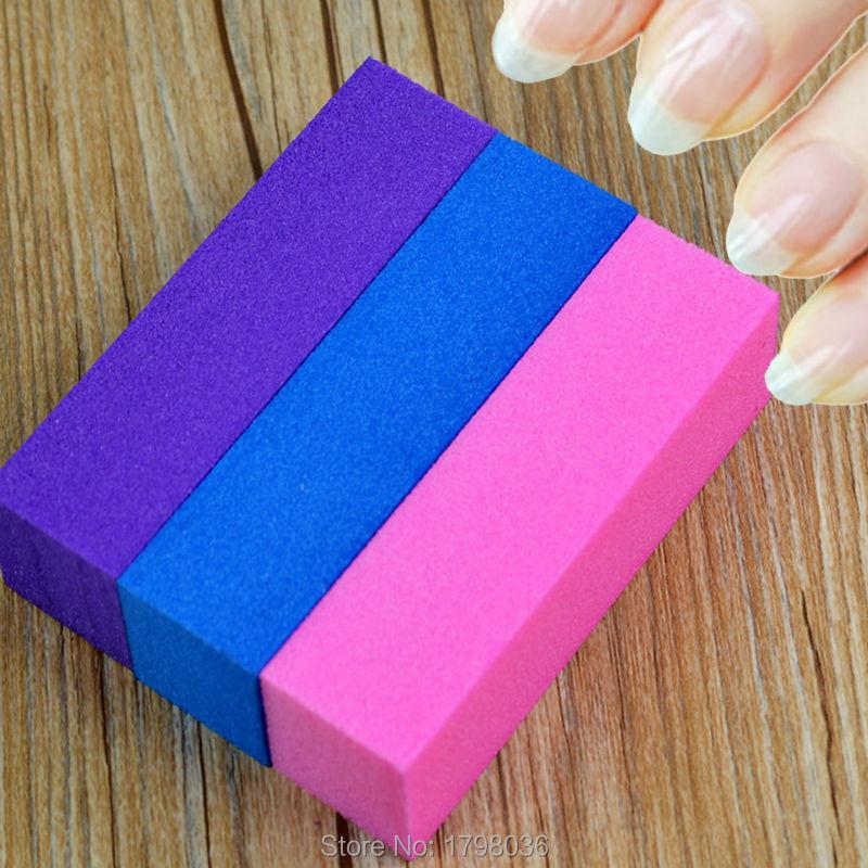 3Pcs Nail Art Sanding Blocks Buffer Buffing Files Block Hot Sale Free Shipping(China (Mainland))