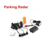 22mm 4 Sensors Buzzer Car Parking Sensor Kit Reverse Backup Radar Sound Alert Indicator Probe System 12V(China (Mainland))
