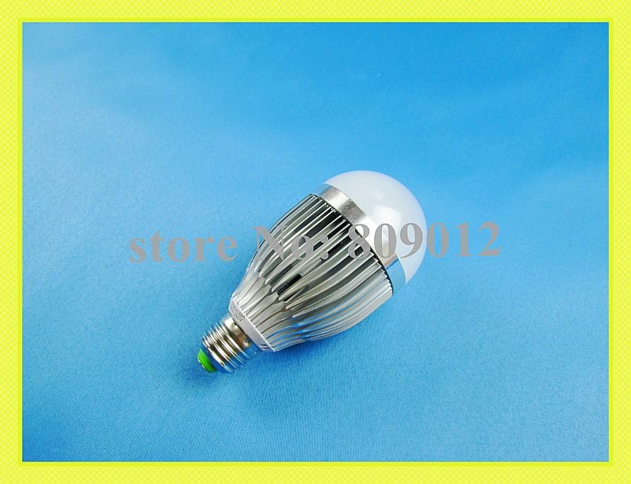 high quality high bright aluminum SMD 5730 LED bubble ball bulb light lamp LED globe bulb E27 9W SMD5730 18 led AC85-265V(China (Mainland))