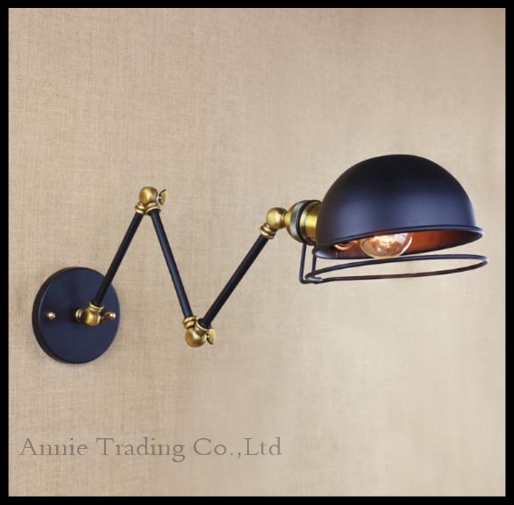 Купить Американский старинные настенные светильники украшения черный бра Arandela Lamparas сравнению огни аппликация murale espelho де parede лампе