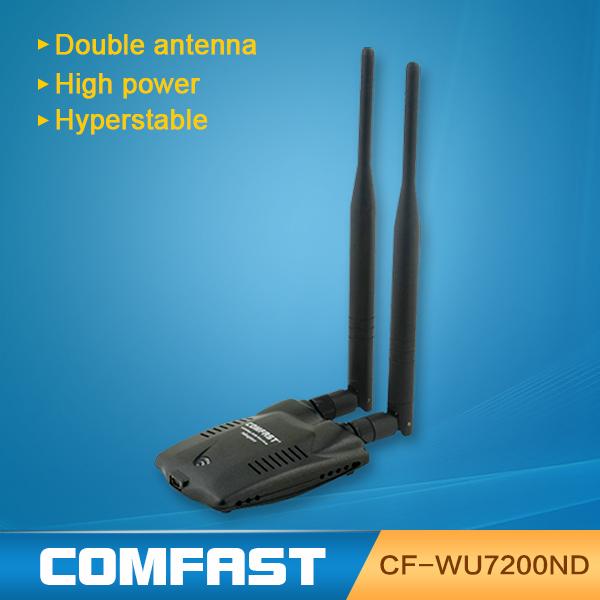 COMFAST WU7200ND double antenna 300Mbps wireless wifi signal adapter(China (Mainland))