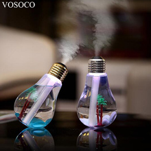 Buy VOSOCO Humidifier 400ML USB DC 5V 7 Colors Night Light Air Ultrasonic Humidifier Oil Essential Aroma Diffuser Mist Maker Fogger for $11.16 in AliExpress store