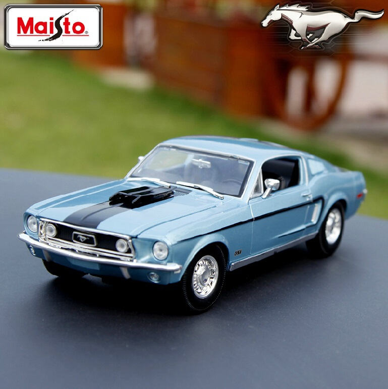 Maisto Ford 1967 1: 18 car model alloy car simulation model of the original model Favorites gifts(China (Mainland))