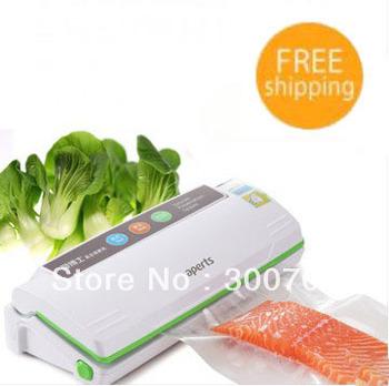 Small vacuum packing machine food sealing machine household wet and dry dual-use automatic vacuum machine