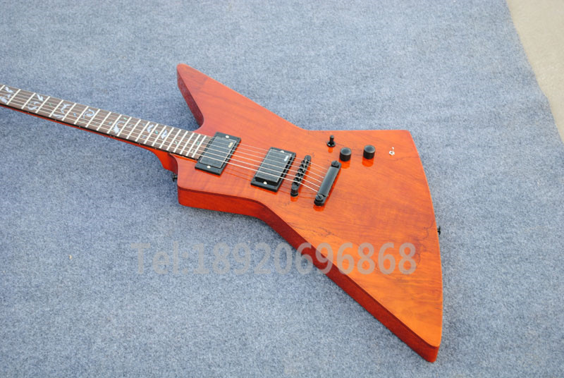 Free Shipping Custom Musical Instruments Explorer Ken Lawrence Metallica James Hetfield Electric Guitar(China (Mainland))