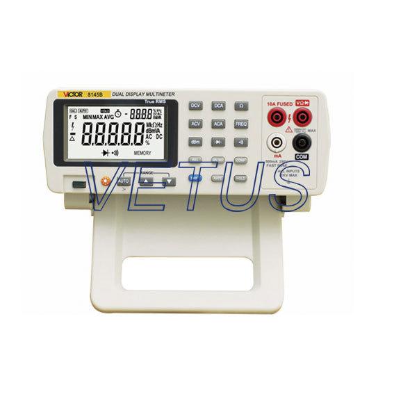 High precision desktop digital multimeter VICTOR 8145B with Dynamic record 36 hours круг шлифовальный луга абразив 1 250 х 50 х 76 63с