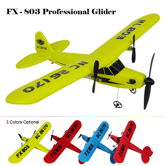 2016 New Flybear FX - 803 2.4G 2CH EPP Professional Glider Front-pull Double Propeller Ready-to-fly Three Colors Airplanes(China (Mainland))