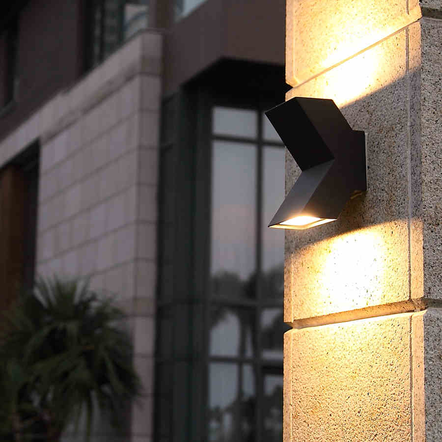 Led Courtyard Lamp Outdoor Waterproof Balcony Exterior ...