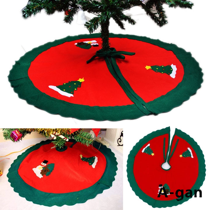 90cm snowman tree skirt christmas tree skirt christmas for Christmas tree items list