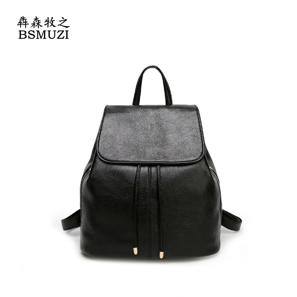 2016 New Fashion Women Backpack Female PU Leather Women's Backpacks Backpack Bags Sport Travel Bag back pack Free Shipping(China (Mainland))