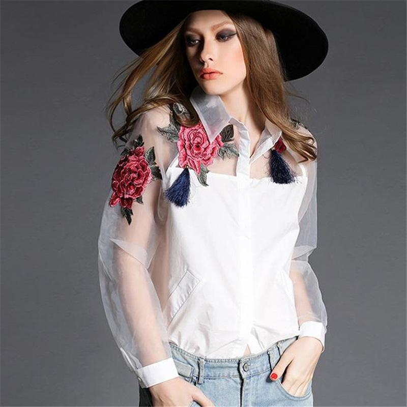 Ladies White Blouse Promotion-Shop for Promotional Ladies White ...