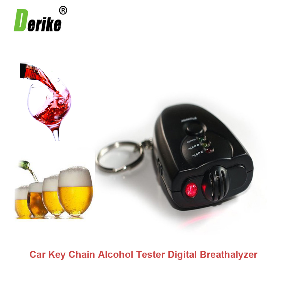 Car Key Chain Alcohol Tester Digital Breathalyzer Alcohol Breath Analyze Tester 2346(China (Mainland))