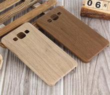 Мягкий чехол для Samsung Galaxy A3 A5 A7 имитация дерева