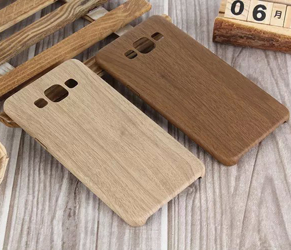 Retro Wooden Pattern For Samsung Galaxy A3 A5 A7 PU Leather Cover Wood Grain Soft Back Case For Samsung A3 A5 A7 Phone Bag(China (Mainland))