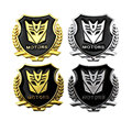 3D Cartoon zinc Alloy Metal Crossbones Car Motorcycle Sticker Label Screaming Car Styling Stickers Accessories