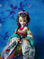 Free Shipping 12 Vintage Collectible Chinese Dolls Princess Figurine Pretty Oriental Dolls Girl Toys For Valentine