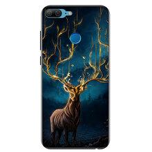 Funda de teléfono de vidrio TOMKAS para Huawei Mate 10 Lite P20 Lite P20 Pro funda de Animal en Honor 10 9 Lite 9 10 para fundas inteligentes P(China)