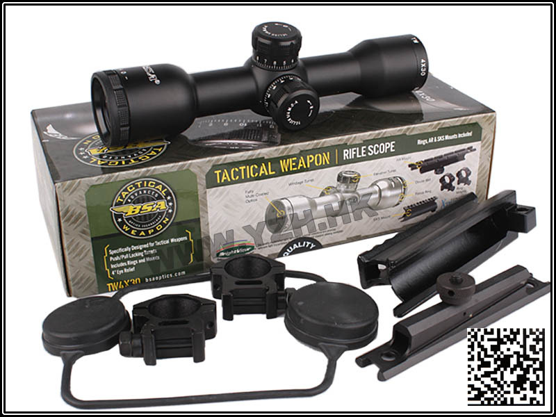 Army Military Equipment Airsoft Paintball Hunting Weapon Rifle Scope Combat Tactical BSA TW 4X30 Scope(China (Mainland))