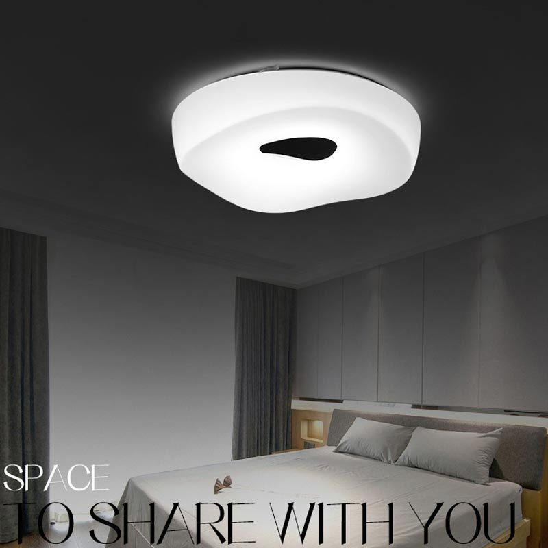 18w 24w Led Lamp Living Room Stair Bedroom Ceiling Lights White Acrylic Lampshade Decor Indoor