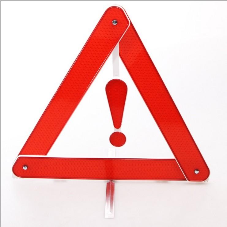Три фута отражающей предупреждение кадров стойки автостоянка
