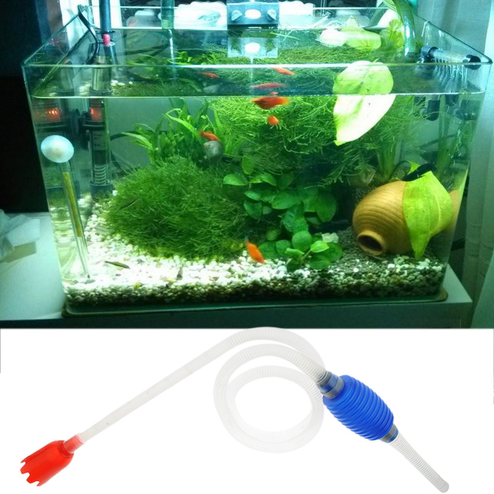 Online buy wholesale aquarium water change pump from china for How to change fish tank water