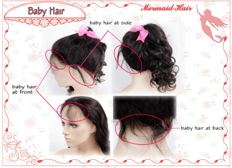 Brazilian Full Lace Wigs With Baby Hair Full Lace Human Hair Wigs