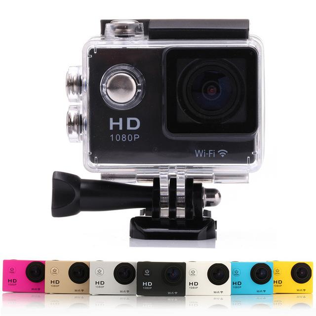 SJ4000 WIFI Action Camera W8 Mini Camera Waterproof Sport cameras1080P Full HD Camcorder Sports DV Diving 30M Helmet