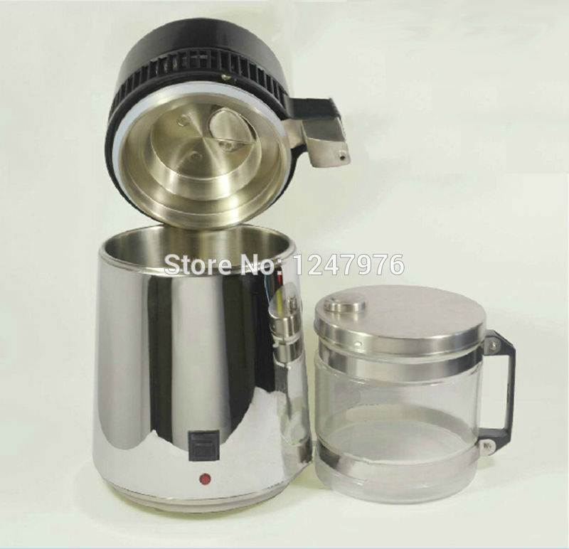 Portable Water Distiller ~ Distilled water machine with stainless steel blind cover