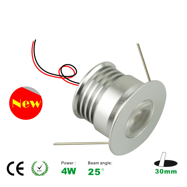 6pcs 4W  ceiling down light  free shipping the 4W led lamp light ,4W led spot light, 30mm cutting,CE and ROHS<br><br>Aliexpress