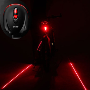 lanterna bike bicycle accessories Bicycle Laser Tail Light Bike Safety Red Rear Warning Light Cycling Caution luz bicicleta(China (Mainland))