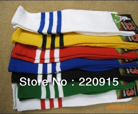 New Free Shipping EMS/DHL ! good quality Soccer socks, football socks, stockings for student