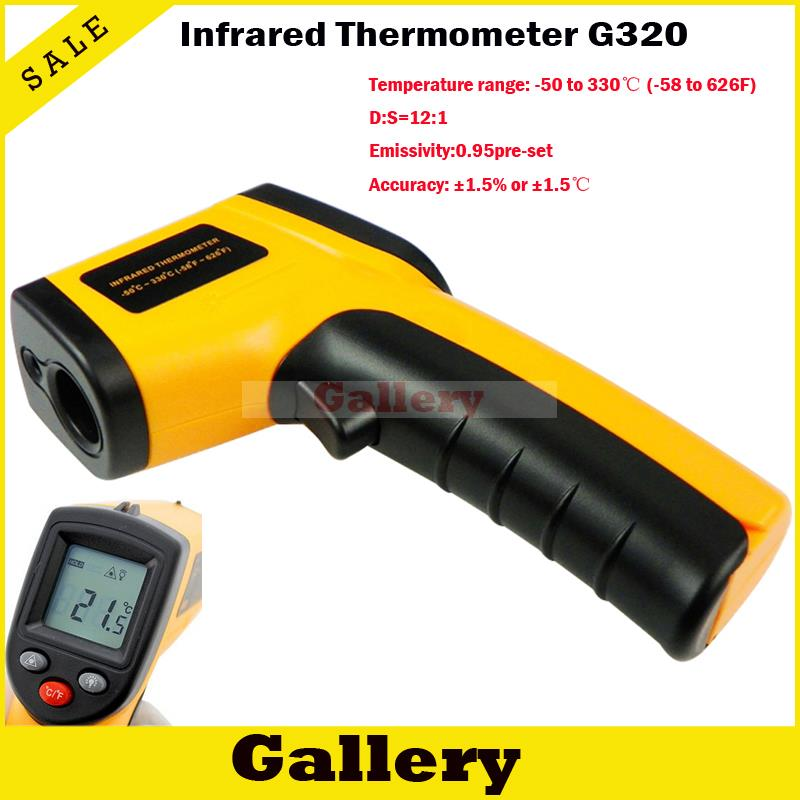 Infrared Thermometer Digital Thermal Camera Imager Handheld Non Contact Ir Laser Temperature Gm320 Ir Laser Diode Laser Diode 1w(China (Mainland))