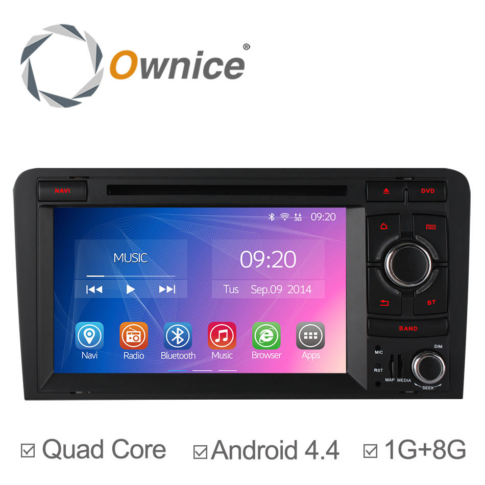 Quad Core Android 4.4 for Audi A3 S3 2003 2004 2005 2006 2007 2008 2009 2010 2011 Car DVD Player GPS Radio Stereo with Canbus<br><br>Aliexpress