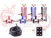 KYLIN STORE -- NEW UNIVERSAL ADJUSTABLE MANUAL TURBO BOOST CONTROLLER  KIT RED BLACK  BLUE